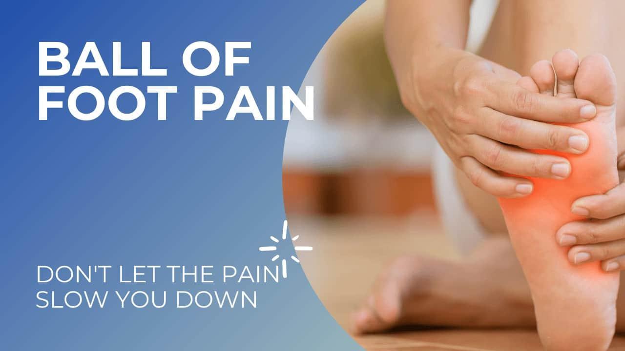 ball of foot pain Richmond va